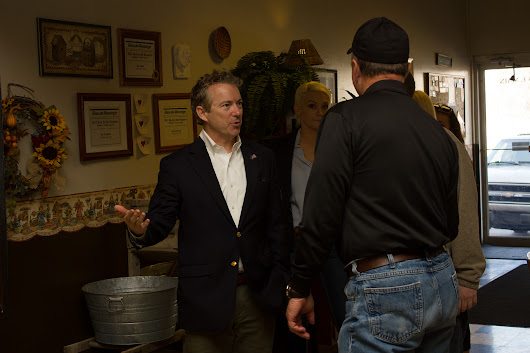 Rand Paul Visits AJ's Cafe in Danville - Boyle County Republican Party | Boyle County Republican Party