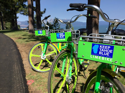 LimeBikes Hit the Scene in South Lake Tahoe