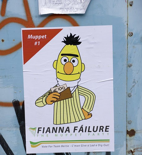 Irish Election Poster (protest) by infomatique