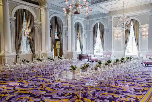 WEDDING BREAKFAST AT THE CORINTHIA