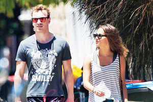Michael Fassbender indulges in PDA with girlfriend in New York