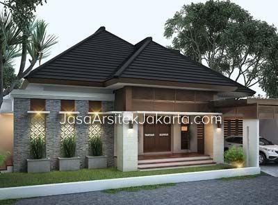 berikut desain rumah luas bangunan 50m2 desain rumah