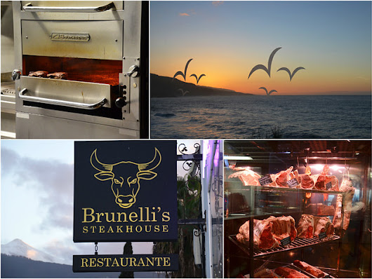 Getting serious about steak, review of Brunelli's Steakhouse in Puerto de la Cruz |