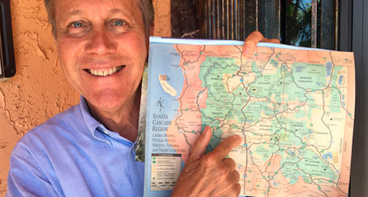 He did it! He did it! Dana Gioia reaches all 58 California counties as poet laureate!