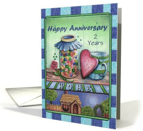 Happy Anniversary on the Birthday of your New House Custom