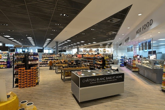 Armstrong Ceilings help Booths with a brand-new look