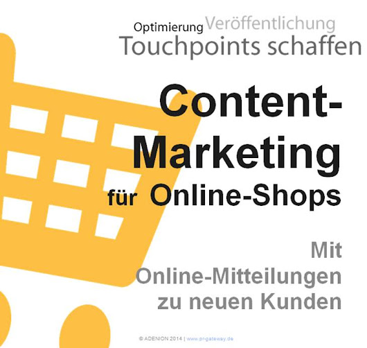 Content Marketing für Online-Shops