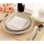 Juvale White Cocktail Napkins - Disposable Paper Napkins, 2-Ply, Plain White Party Supplies, Bulk Catering, Restaurant, Buffet Supplies, Folde...