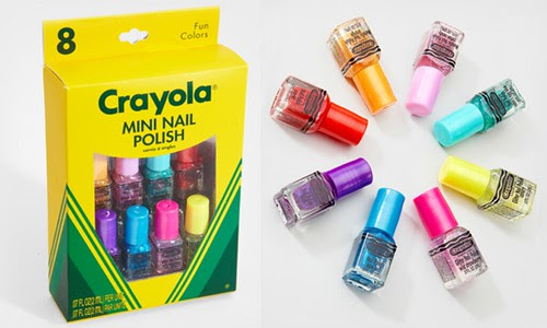 Crayola mini nail polish