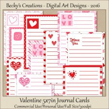 Valentine 5x7 Journal Cards-FS-CU-JPeg-Beckys Creations