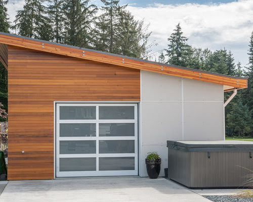 Flat Roof Shed Design Pictures ~ bike storage shed ideas