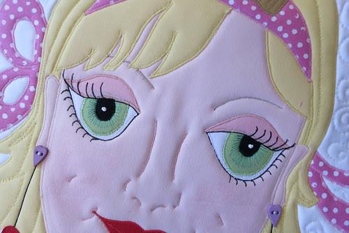 Dee's pretty eyes