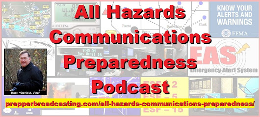 "All Hazards Communications Preparedness!Host: ""Davis A. Vine"" on PBN"
