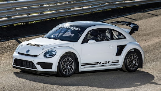 2015 VW Beetle GRC packs 553 rallycrossing horsepower