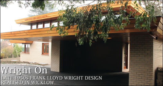 Frank Lloyd Wright design comes to Ireland