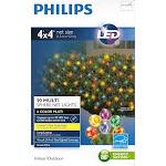 Philips LED 4' x 4' Net Lights (90 Multi Sphere Net Lights 6 Colors)