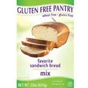 Gluten-Free Pantry Bread Mix, Favorite Sandwich: Calories ...