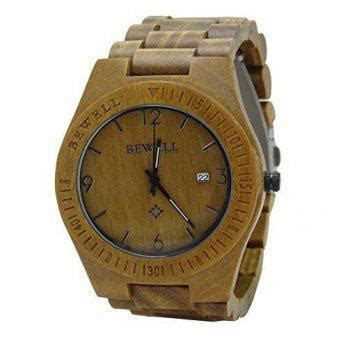 Eco Friendly Wood Wrist Watch Made With Green Sandalwood