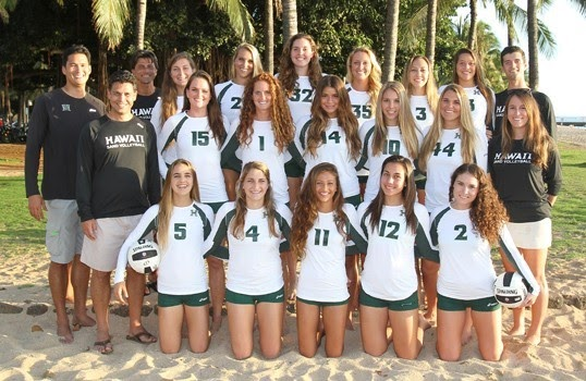 University Of Hawaii At Hilo Volleyball Roster