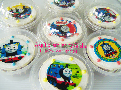 Birthday Cupcakes Edible Image Thomas and Friends