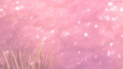 school tomorrow anime aesthetic pink