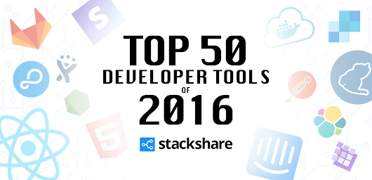 The Top 50 Developer Tools of 2016 | StackShare