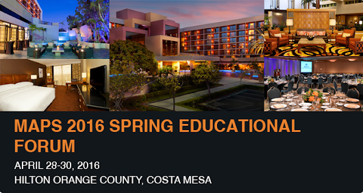 MAPS to Organize 2016 Spring Conference in Hilton Orange County, Costa Mesa