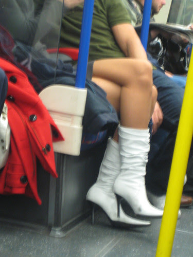 Miss White Boots