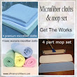 Premium Ultra Microfiber Mops Cleaning Cloths Products