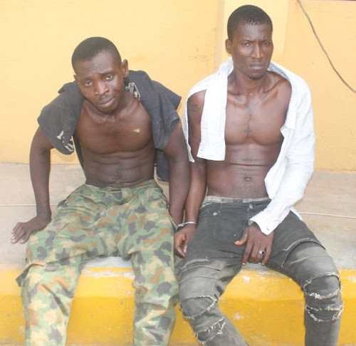 End Of The Road As Notorious Armed Robbers Finally Arrested In Abia State. See Details