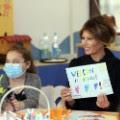 01 Melania Trump Pediatric Hospital Vatican 0524