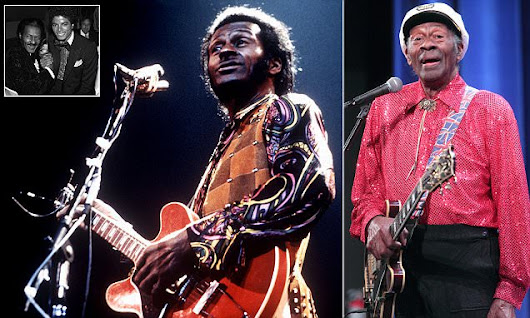 Rock and roll legend Chuck Berry dies aged 90
