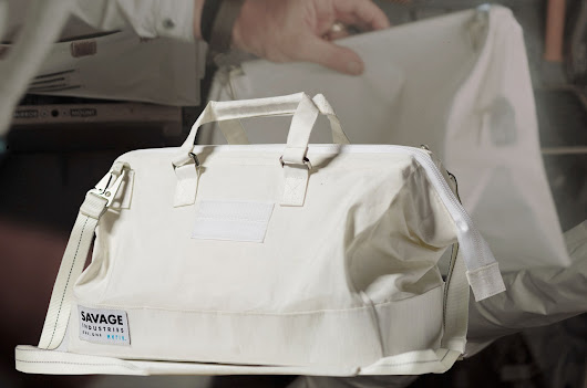Adam Savage's new tool bag styled after Apollo astronaut 'purse' | collectSPACE