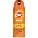 OFF! Active Sweat Resistant Insect Repellent - 6 oz can