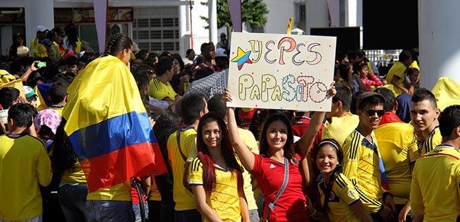 Los aplausos a jugadores de la región que integran la Selección Colombia de fútbol, retumbarán en la plazoleta Jairo Varela