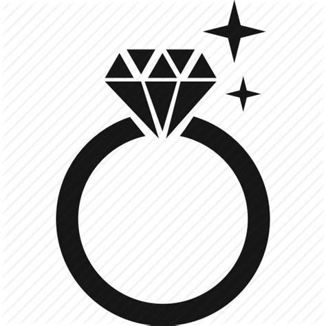 Diamond, engaged, engagement ring, jewlery, ring icon
