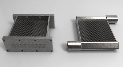 Metal additive manufacturing enables lean, green heat exchanger : Make Parts Fast