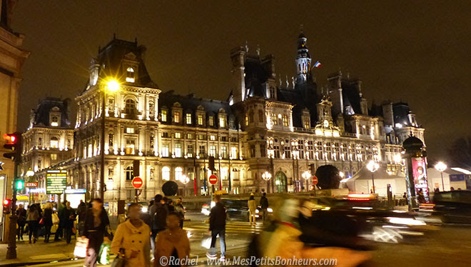hotel de villé paris by night