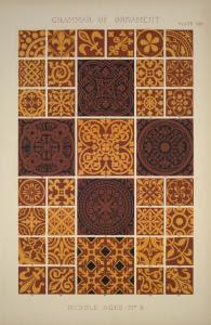 Medieval Ornament no. 4: Encau... Digital ID: 1540590. New York Public Library