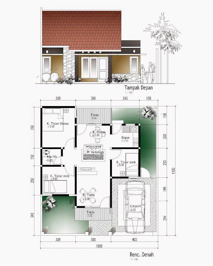 Denah Pondasi Rumah Minimalis | Ide Rumah Minimalis