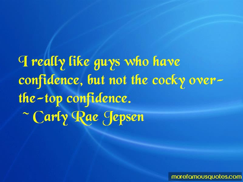Confidence But Not Cocky Quotes Top 2 Quotes About Confidence But