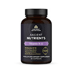 Ancient Nutrients - Vitamin B-12 Capsules 3-Pack | Ancient Nutrition