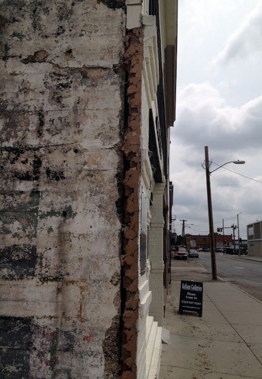 Business owner says city work damaged building