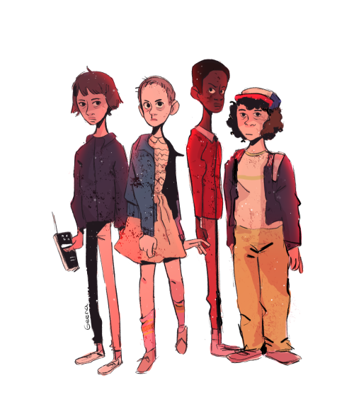 Resultado de imagen de stranger things drawing tumblr