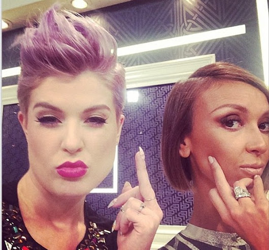 Kelly Osbourne Still Going After Giuliana Rancic