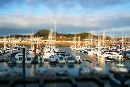 Conwy Marina in Minature
