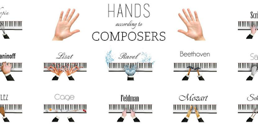 This infographic of composers' hands is painfully (and hilariously) accurate