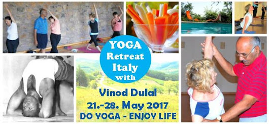 Yoga Retreat in beautiful Umbria /Italy with Vinod Dulal