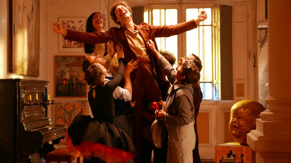 Fotograma de la película 'Poesía sin fin', de Alejadro Jodorowsky.