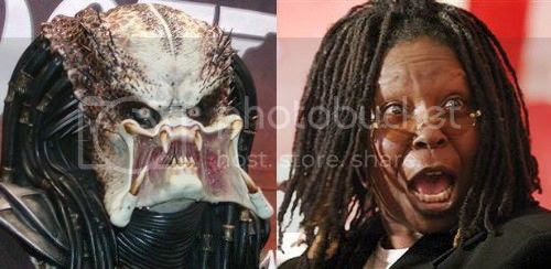 Feis do cinema: Whoopi Goldberg vs Predator
